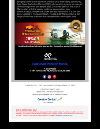 Hydrilla Gear Email Design